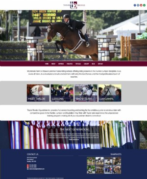 Taylor Brooks Equestrian Inc.'s New Website is Here!